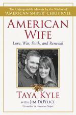 American Wife Taya Kyle Memoir Hardcover by American Sniper Chris Kyle Widow