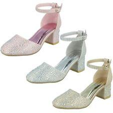 Mädchen Spot On Mittelhoch Party Schuhe