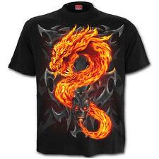 Spiral Direct Dragon de feu enfants / jeunes / garçons / Enfants T-shirt / top biker / tattoo / skull