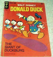 Walt Disney's Donald Duck 111 VG/FN 5.0 Giant Duckburg! 50% off Guide!