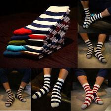 5 Pairs Lot Men's Designer Fashion Dress Socks New Stripe Argyle Color Size 6-12