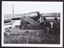 CONFEDERATE GUN WHISTLING DICK Cannon WAR POSTCARD
