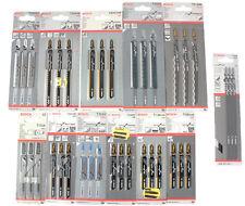 3er Pack BOSCH Stichsägeblätter ++AUSWAHL++ für Holz Kunststoff Metall Keramik