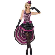 Cancan Kostüm Burlesque Kleid Saloon Girl Tanzkostüm Showgirl Outfit Tänzerin