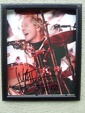 Matt Sorum Velvet Revolver drummer Signed & framed 8x10! w/coa + hologram!