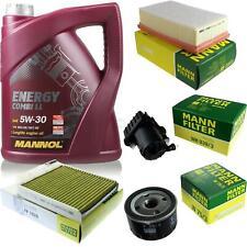 CAMBIO Olio Set 5l MANNOL ENERGY COMBI LL 5w-30 Uomo ispezione Service 10053114