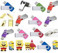16GB usb flash drive 2.0 Memory stick various colours Blue Black Purple white