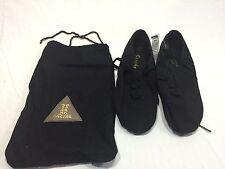 "SANSHA Canvas/Neoprene ""Tivoli"" Jazz Shoes Style JS3 black"