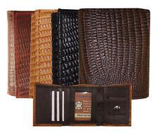 "Kids Leather Snake/Lizard imprint Trifold Mini Wallet 3""x2.5"" Christmas Gift New"