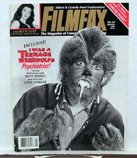 FILMFAX Magazine # 22 TEENAGE WEREWOLF Laurette Luez