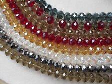 14mm perles belle facettés 45 rondelle cristal verre en vrac acheter 1 obtenez 1 gratuit