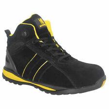 MaxSteel leggero in PELLE Steeltoe Cap Sneakers Da Lavoro Scarpe Stivali 3-14