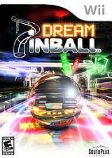 Dream Pinball 3D W/ CASE (Nintendo Wii, 2008)