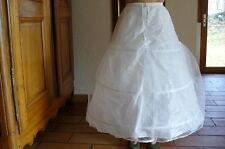 Jupon pour robe mariée/soirée 3 cerceaux 2 couches Neuf J06
