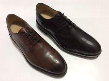 GBX Men's Brenner Croc Print Leather Oxford Dress Shoes Black & Tan $69.99 each