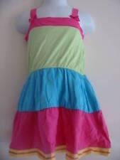 BNWT ADAMS Multi Tiered Sun Dress Pink Blue Green 12-18 Months
