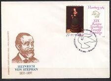 POLAND 1984 FDC SC#B142 L.CRANACH,  UPU HAMBURG`84