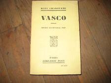 Marc CHADOURNE: Vasco