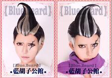 Mix colour dangan ronpa gundam tanaka Cosplay party hair Wig + Free Hairnet