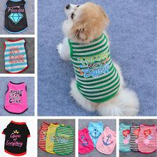 New 2018 Summer Various Pet Puppy Small Dog Cat Pet Clothes Vest T Shirt Apparel