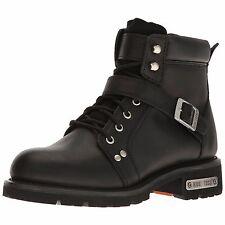 9143 Ride Tecs Men's 6'' Lace Zipper Black Work Boot