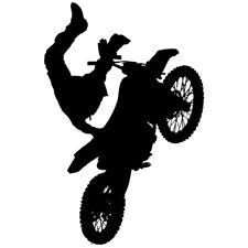 Sticker Geant XXL Moto Cross figure silhouette, 40x60 cm à 60x91 cm(MOTO009)