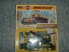 Airfix 1/72 HO Japanese Chi-Ha Tank - 1973 carded i.