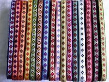 2m Borte in verschiedenen Farben, 15mm breit  (B287)