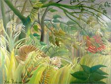 Forex-Bild Tiger in Tropensturm - Henri Rousseau