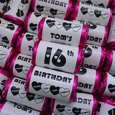 Personalizzato Mini Amore Cuori dolci Happy Birthday Party Bag Filler favorisce