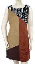 DESIGUAL VEST MANUELA Robe femme 67V28B8 6064 Marron Beige Noir Taille 40