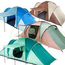 Skandika Daytona & Silverstone Family Group Dome Tents 6-9 Person Man New