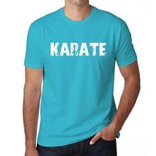 KARATE Tshirt Col Rond Homme T-shirt, Homme tshirt, aqua blue, cadeau ideal