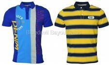Tommy Hilfiger Denim Men's Striped Logo Polo Shirt