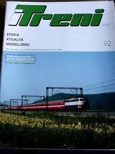 I Treni 92 1989 Locomotive Badoni 235 FS - FNM nel 2000 - Norimberga 1989