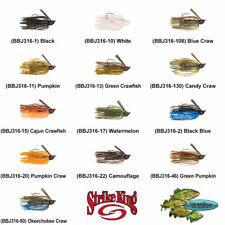 Strike King Jigs Bitsy Bug 3/16oz Choose Any 13 Colors Mini Finesse BBJ316 Lures