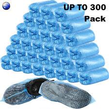100/200/300pcs Waterproof Boot Covers Plastic Disposable Shoe Cover Overshoe AU