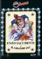 Film DVD Il grande Iac (Enzo Iacchetti Daniele Sala) NUOVO NEW