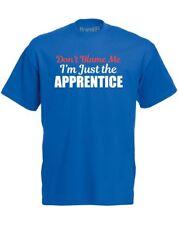 Non incolpare la Apprentice Slogan Stampato Da Uomo T-shirt Slim Fit Cotone Tee UK