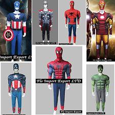 Thor Spiderman Capitan America Ironman Hulk Costumi Carnevale Man Cosplay SUHEM1