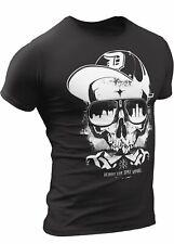(0054) Detroit Thug Skull T-Shirt, Detroit T-Shirts LLC