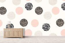 3D Pink White Dot 934 Wallpaper Mural Paper Wall Print Indoor Murals CA Summer