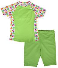 Popolini UV-Schutzkleidung Swimwear Zweiteiler Fruits-Green