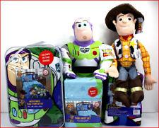 4/7 pc - Disney TOY STORY 4 Glow Comforter + Sheet + Blanket + Plush Woody Buzz