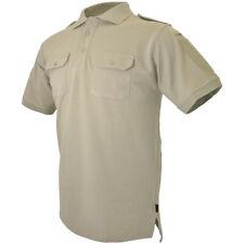 Hazard 4 Leo Uniforme Reemplazo Batalla Polo Para Hombre Ejército Camisa Marrón