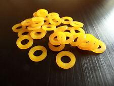 TENSIONE in nylon colorato vite/Rod RONDELLA PER DRUM KIT e lusinghe spessore 1.6mm