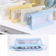 Make-Up Bag Vintage Pouch Cosmetic Toiletry Case Travel Bag Handbag Makeup LC