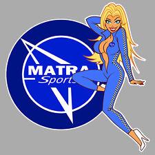 MATRA left Pin Up Sticker gauche