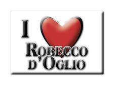 CALAMITA LOMBARDIA FRIDGE MAGNET MAGNETE SOUVENIR LOVE ROBECCO D'OGLIO (CR)