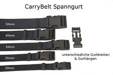 """CarryBelt Modell """"NANCY"""" Spanngurt in schwarz mit Steckschnalle - KFZ - Outdoor"""